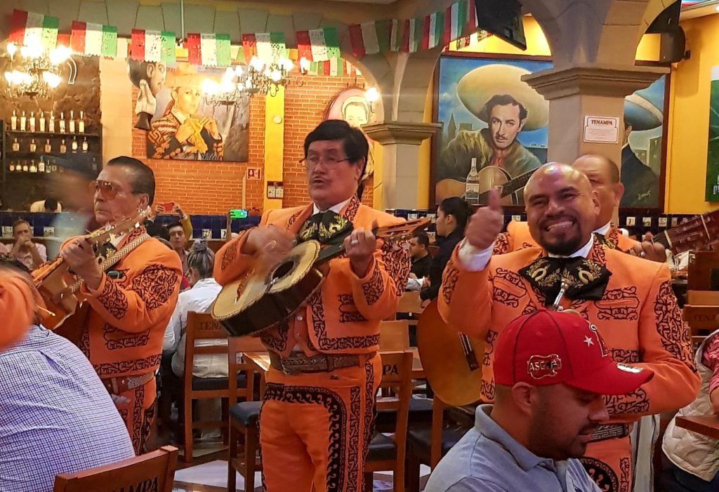 Mariachi band in Mexico City