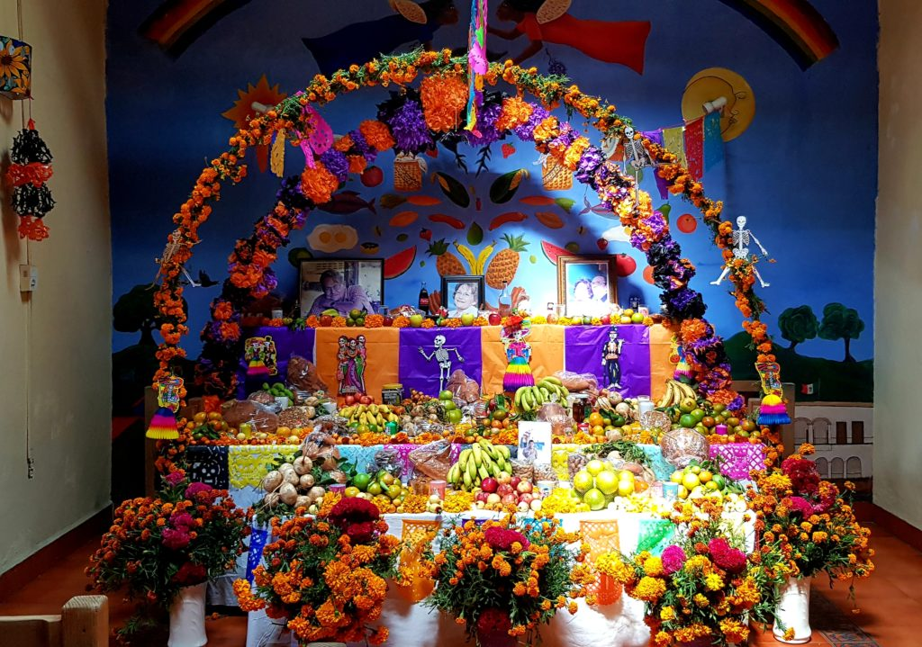 Ofrenda for the Day of the Dead, Mexico