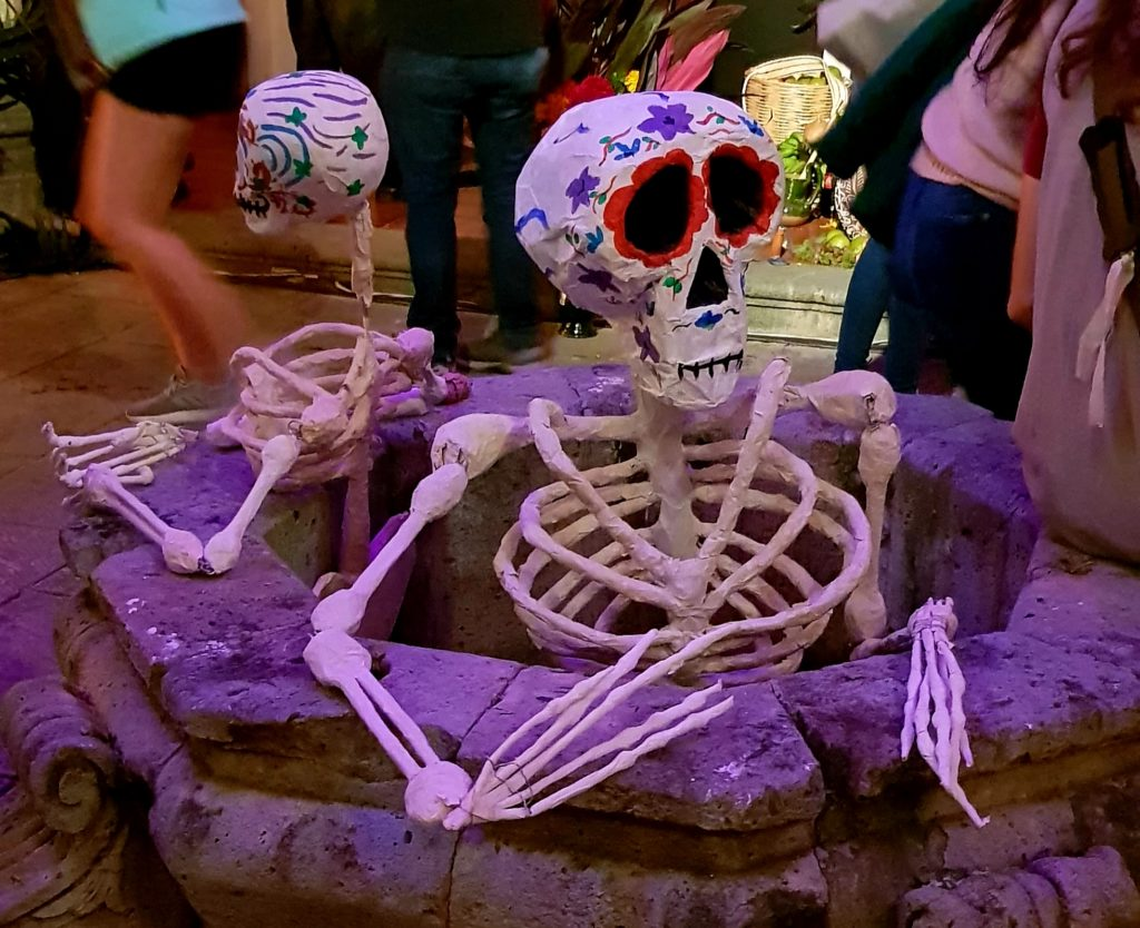 skeletons, day of the dead, Mexico