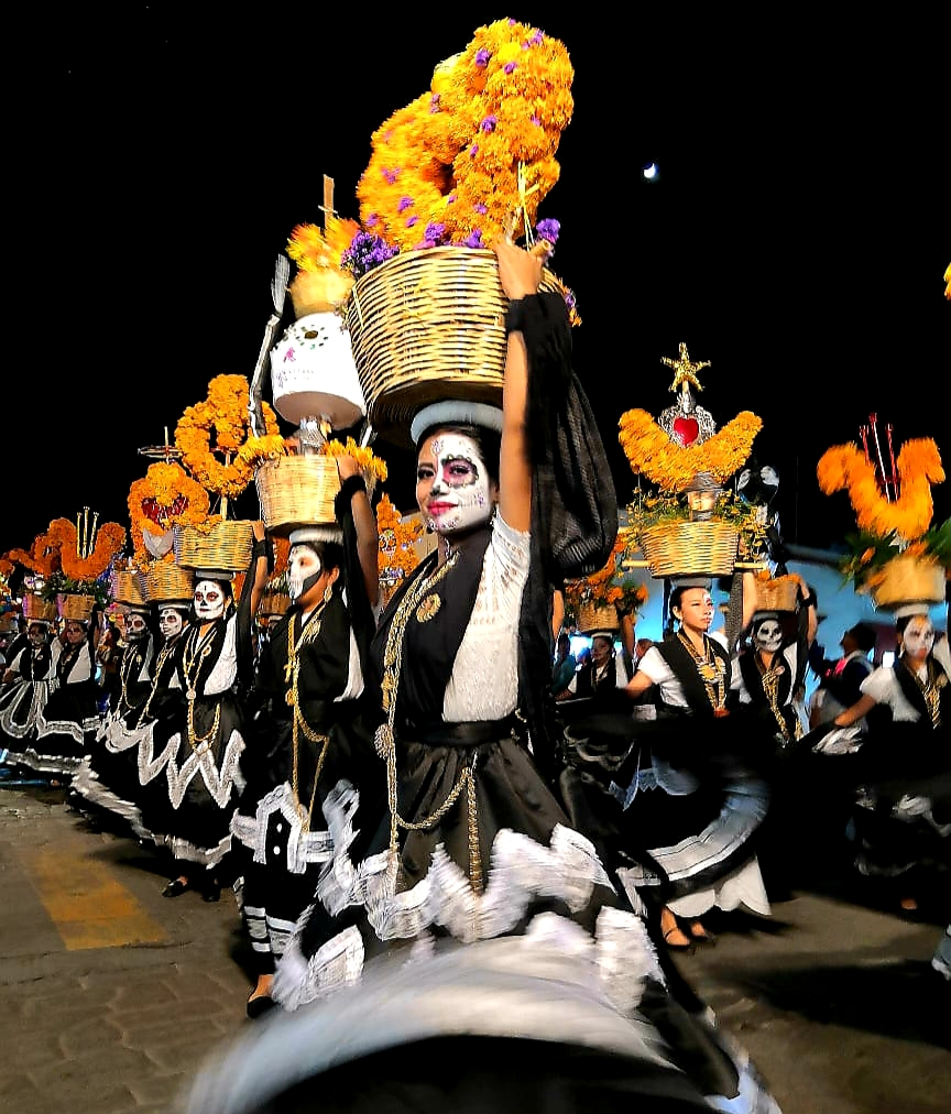 Parade, Day of the Dead, Mexico