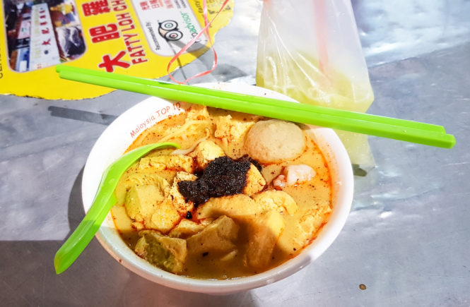 curry mee, street food penang