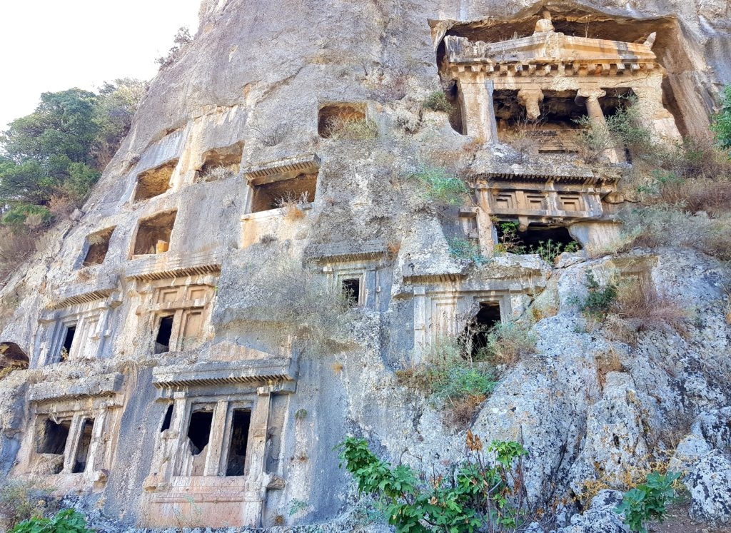 lycian tombs what to do in fethiye